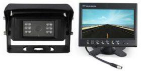 Sada pro montáž zpětné kamery pro nákladní vozidla a autobusy